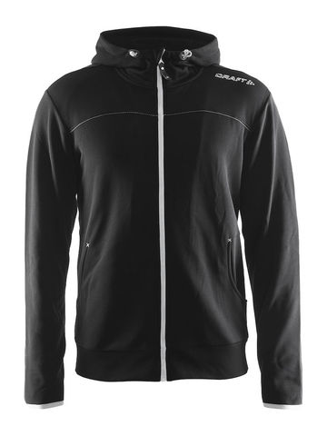CRAFT Leisure Full Zip Hood, herre