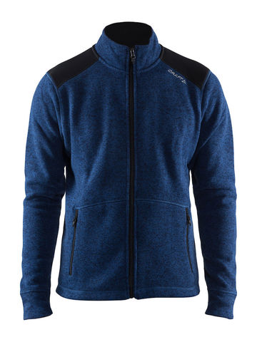 CRAFT Noble Zip Jakke Heavy Knit Fleece, herre