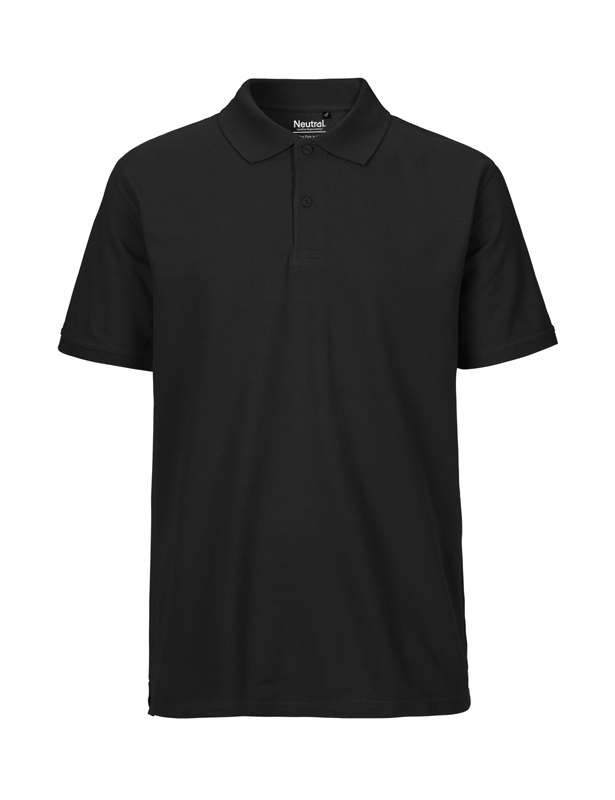 NEUTRAL Økologisk Classic Polo - Sort