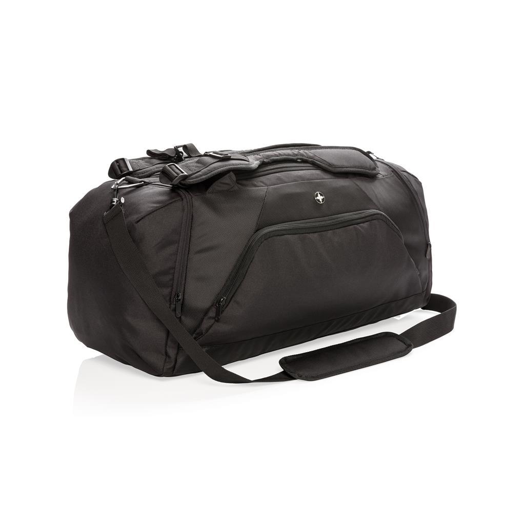 2ec5175ce10 Swiss Peak RFID sportstaske og rygsæk. 1 farve